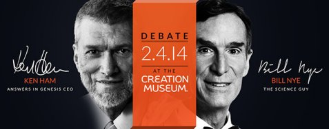 On February 4th at the Creation Museum in Kentucky, Ken Ham and Bill Nye will debate the question, Is creation a viable model of origins?