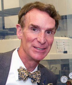 "Bill Nye is known as ""The Science Guy,"" even though some of his behavior is rather anti-science. (click for credit)"