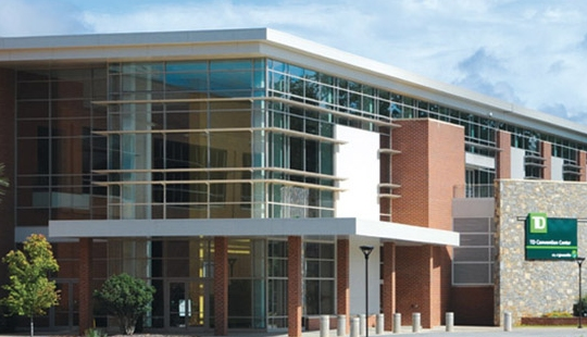 This is the TD convention center, where the Southeast Homeschool Convention was held.  (click for credit)