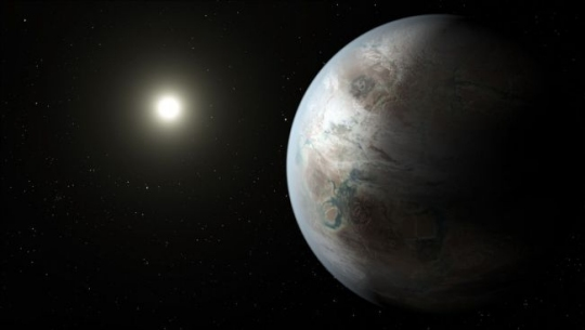 Newly-discovered planet Kepler-452b is in the habitable zone of a solar system 1,400 light years away, NASA announced Thursday.