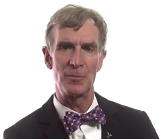 Bill Nye, who knows hardly anything about philosophy