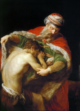 """The Return of the Prodigal Son"" by Italian artist Pompeo Girolamo Batoni"