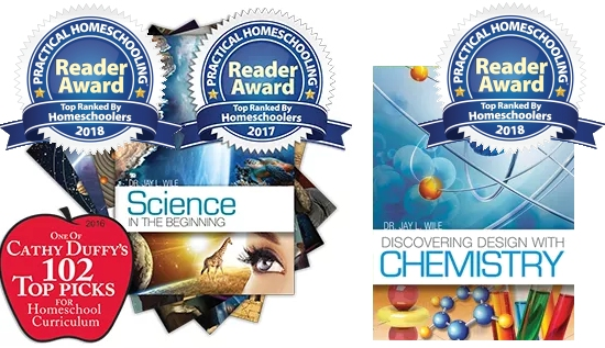 my new elementary science series and my new chemistry course win